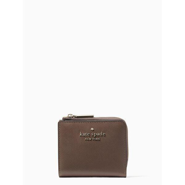 staci small l-zip bifold wallet, dusk cityscape, hi-res