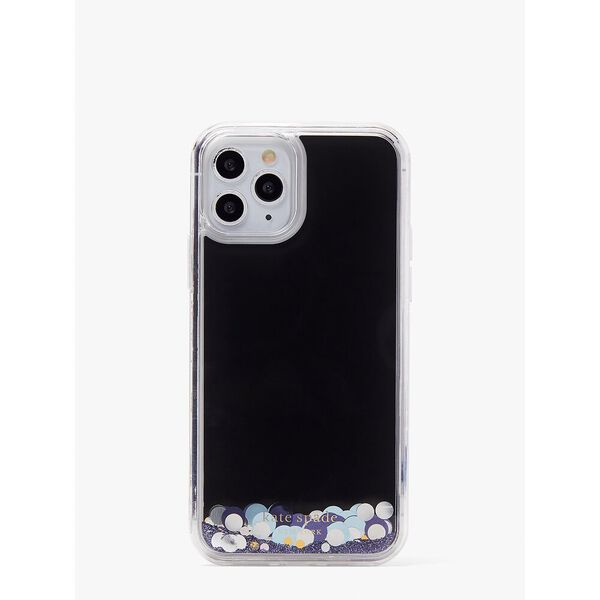 liquid glitter confetti iphone 12/12 pro case