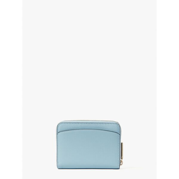 spencer small compact wallet, teacup blue, hi-res