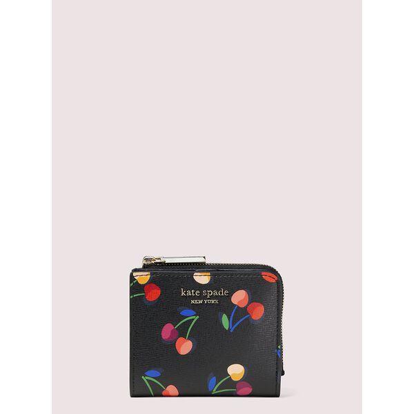 spencer cherries small bifold wallet