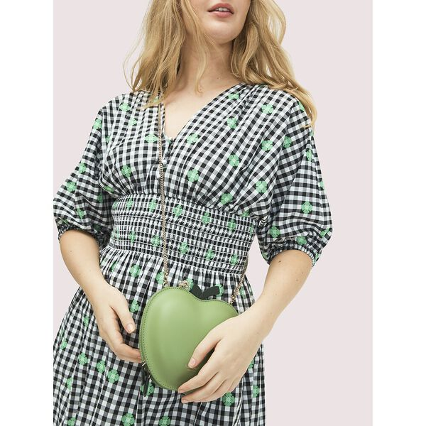 picnic apple crossbody, BANANA LEAF, hi-res