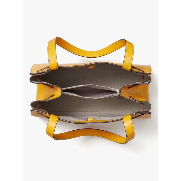 lane large satchel, loquat, hi-res