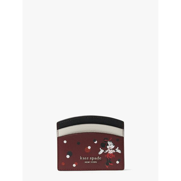 disney x kate spade new york minnie mouse cardholder