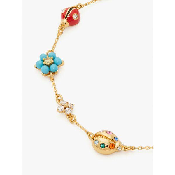 nature walk ladybug bracelet, multi, hi-res