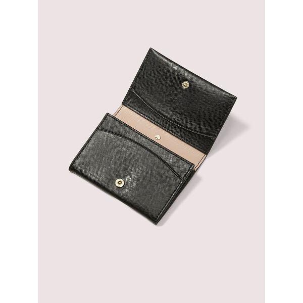 spencer bifold cardholder, black, hi-res