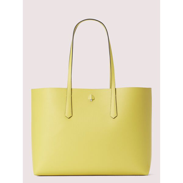 molly large tote, light yellow, hi-res