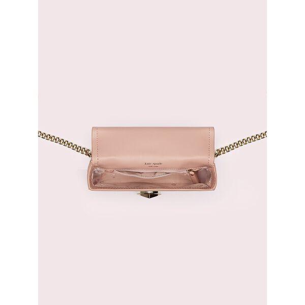 amelia twistlock small convertible chain shoulder bag, flapper pink, hi-res