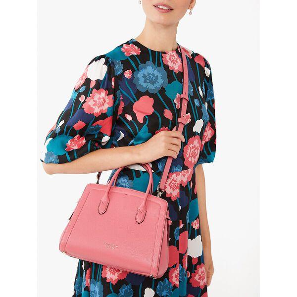 knott medium satchel, orchid, hi-res