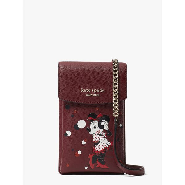 disney x kate spade new york minnie mouse north south crossbody