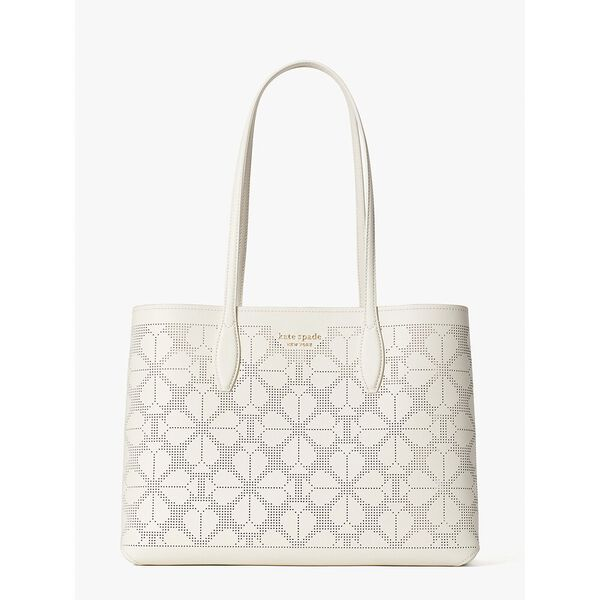 all day perforated large tote