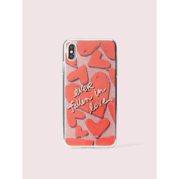 ever fallen in love iphone xs max case, Multi, hi-res
