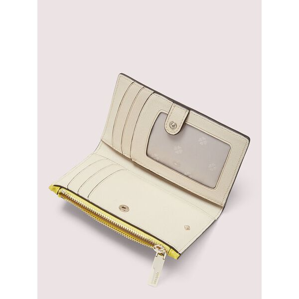 spencer small slim bifold wallet, LIGHT BULB, hi-res