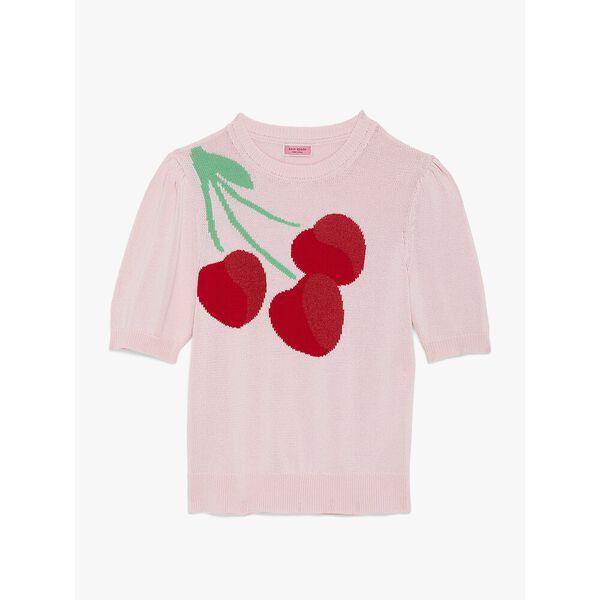 cherry sweater