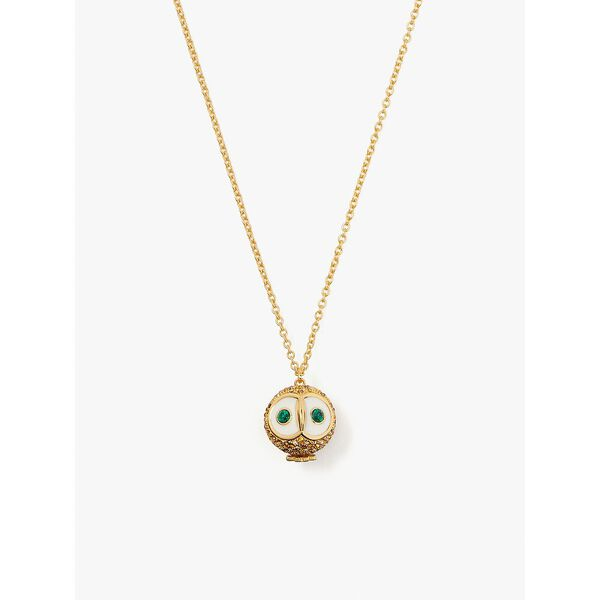 night bird pavé mini pendant, multi, hi-res