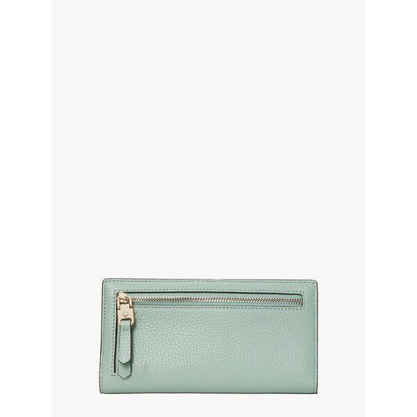 roulette slim bifold wallet, laurel green, hi-res