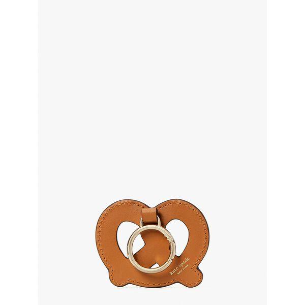 on a roll pretzel keychain, bungalow, hi-res