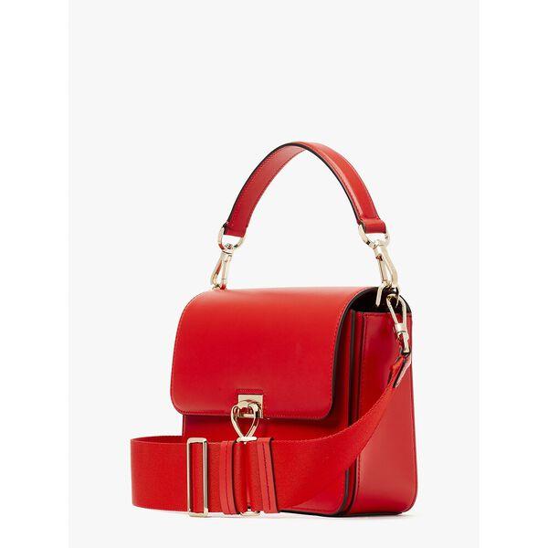 lovitt medium convertible shoulder bag, heirloom tomato, hi-res