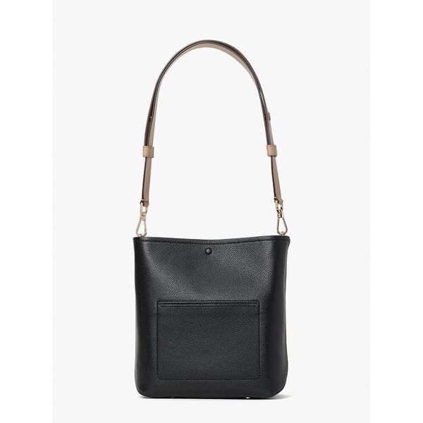 river medium bucket bag, black multi, hi-res