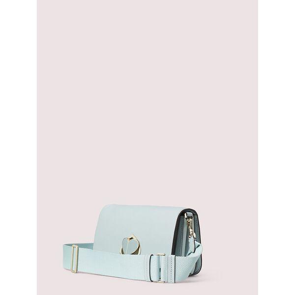 nicola twistlock medium sling bag, CLOUD MIST, hi-res