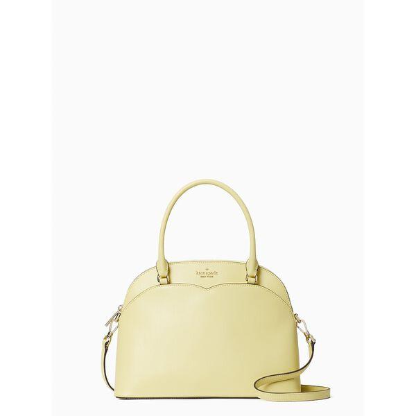 payton medium dome satchel, frosty lime, hi-res
