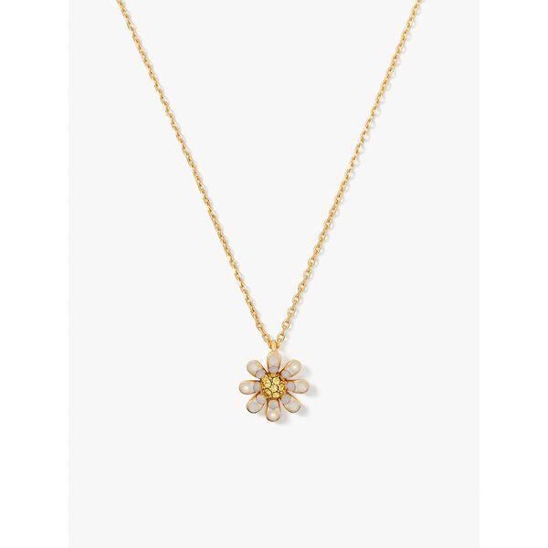 dazzling daisy pendant, opal, hi-res
