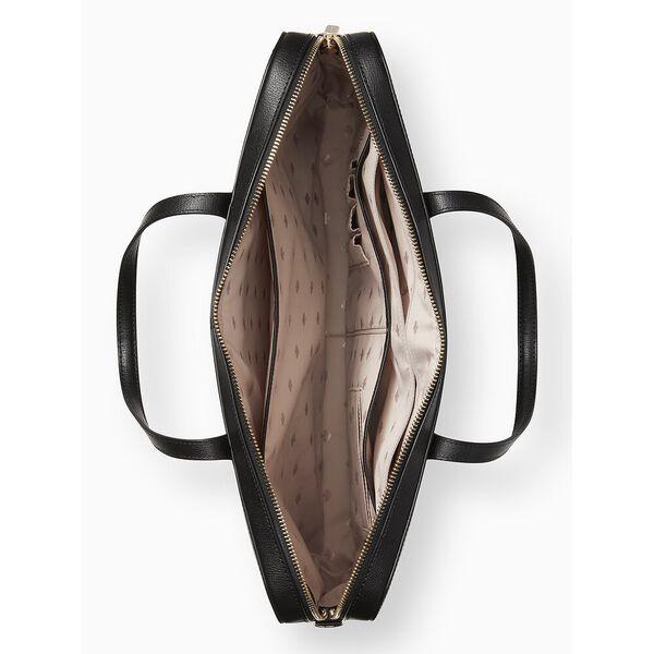 adel laptop bag, black, hi-res