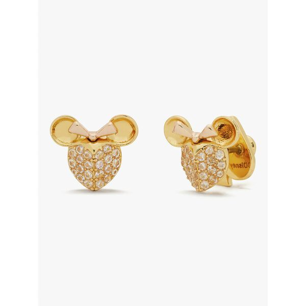 disney x kate spade new york minnie mouse pavé studs