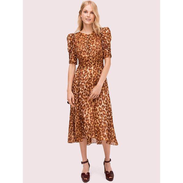 panthera clip dot dress