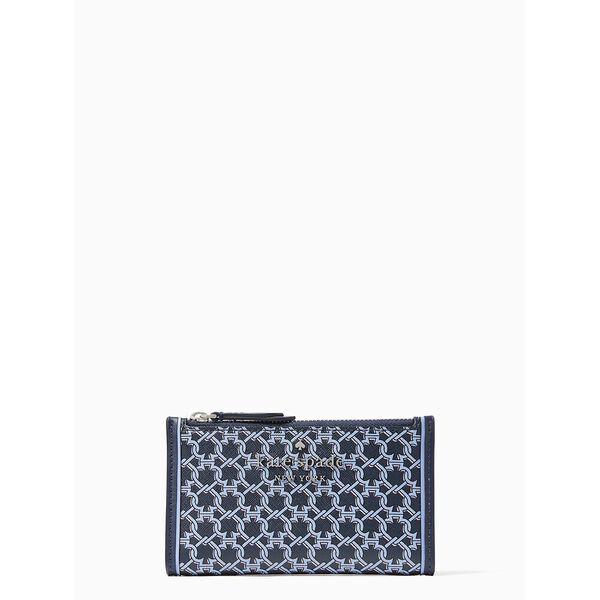 spade link small slim bifold wallet