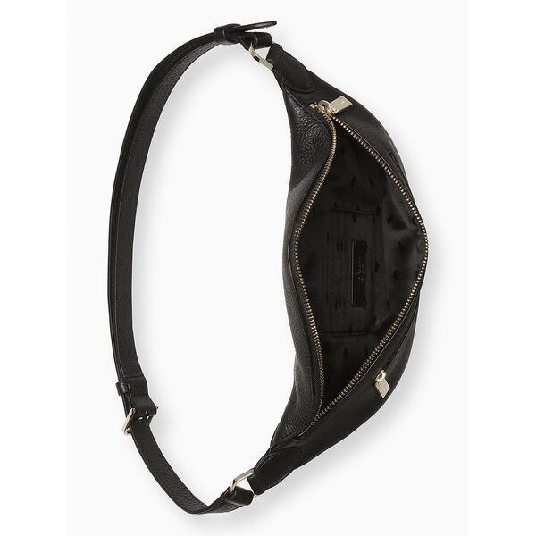 leila belt bag, black, hi-res