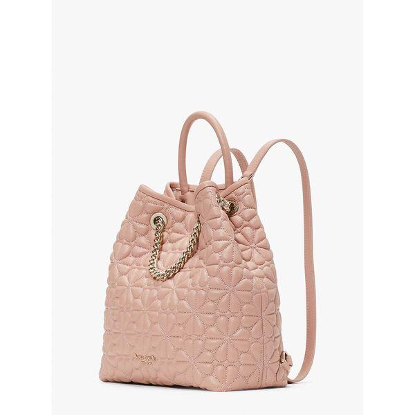 bloom medium backpack, flapper pink, hi-res