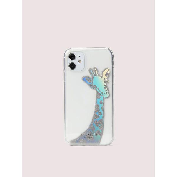 iridescent giraffe iphone 11 case