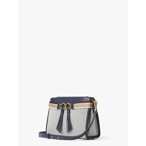 toujours canvas medium crossbody, BLAZER BLUE, hi-res