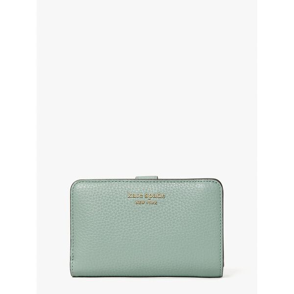 roulette compact wallet, laurel green, hi-res
