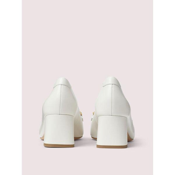 yarrow fringe pumps, white, hi-res