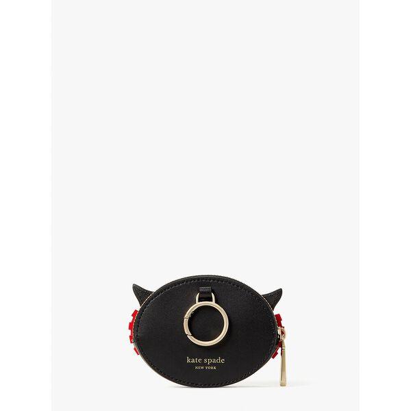 blinx plaid 3d owl coin purse, pink multi, hi-res
