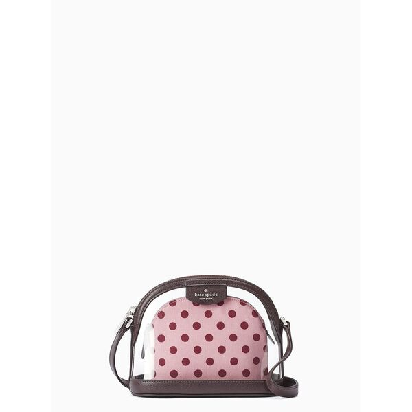 sylvia see-through lia dot dome crossbody, multi, hi-res
