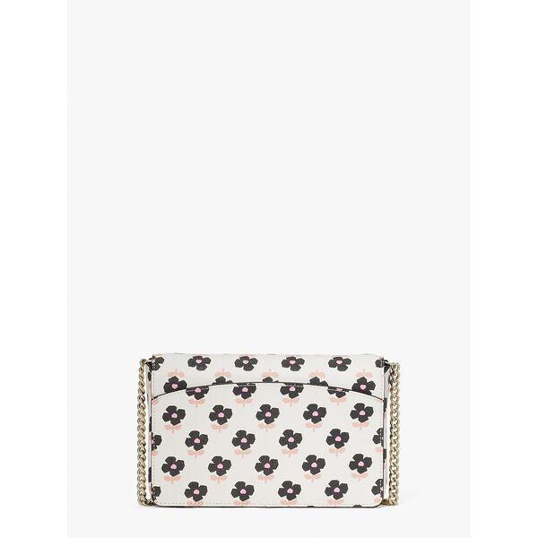 spencer block print floral chain wallet, parchment multi, hi-res
