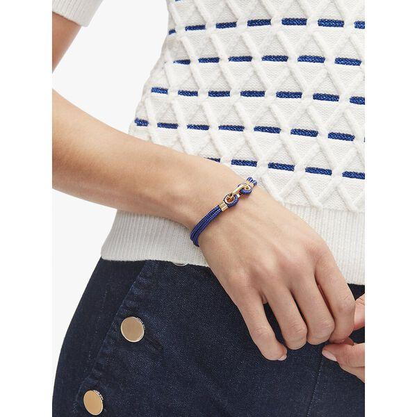 know the ropes cord bracelet, blue, hi-res
