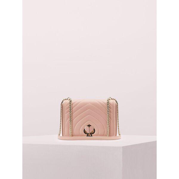 amelia twistlock medium convertible chain shoulder bag, flapper pink, hi-res