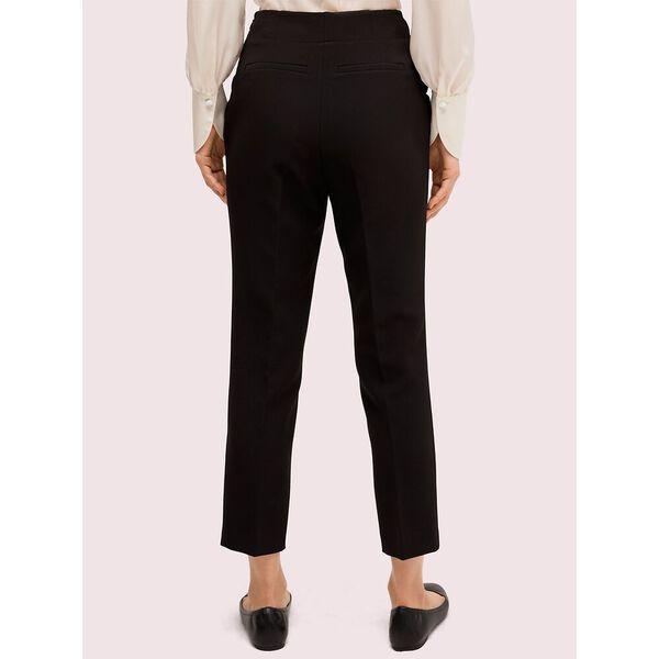 scallop pocket pant, black, hi-res