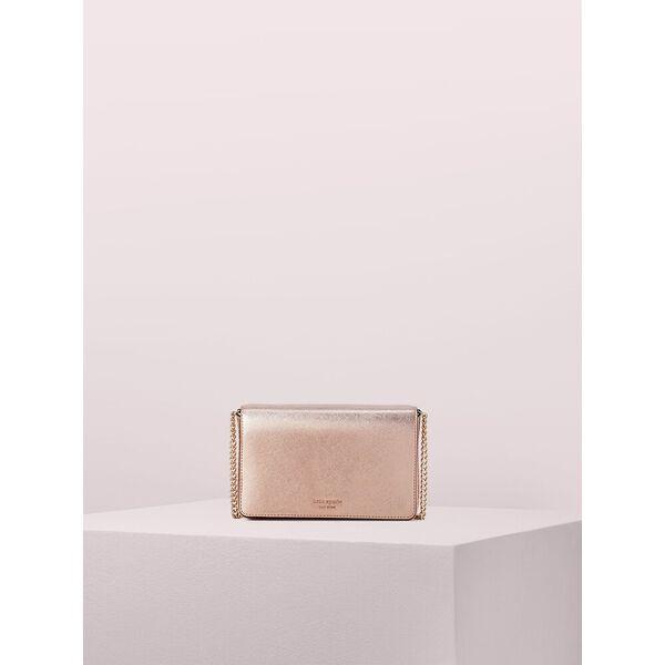 spencer chain wallet, rose gold, hi-res