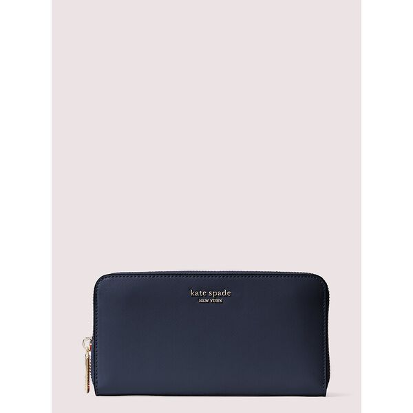 spencer zip-around continental wallet