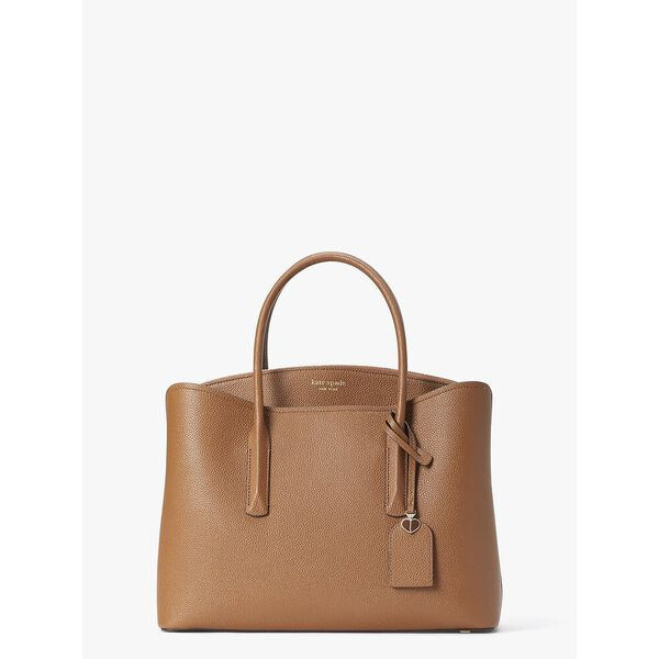 margaux large satchel, WARM GINGERBREAD, hi-res