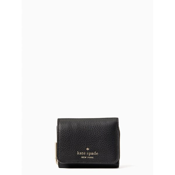 leila sm trifold continental wallet
