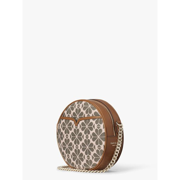 drum logo jacquard medium crossbody, PINK MULTI, hi-res