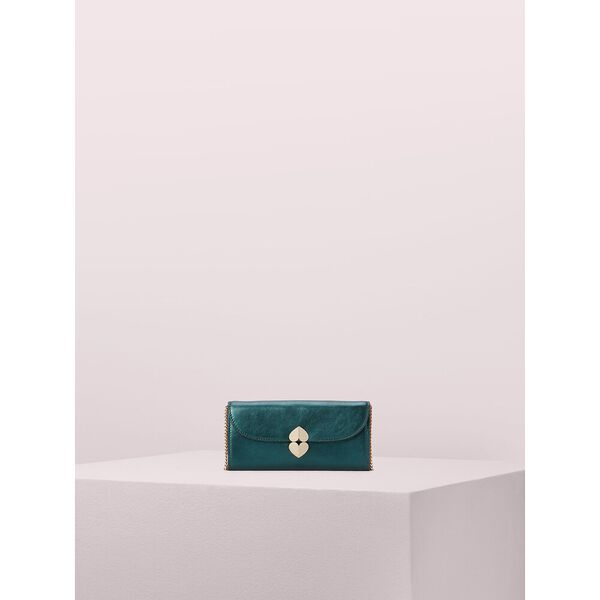 lula metallic crossbody wallet