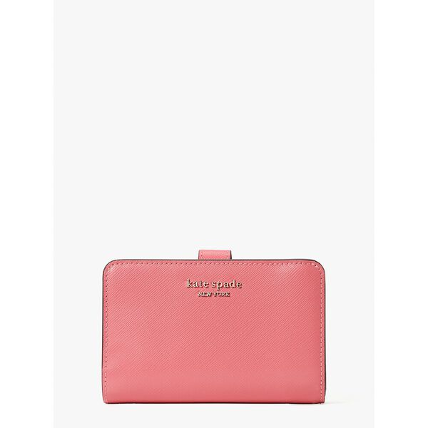 spencer compact wallet, orchid, hi-res