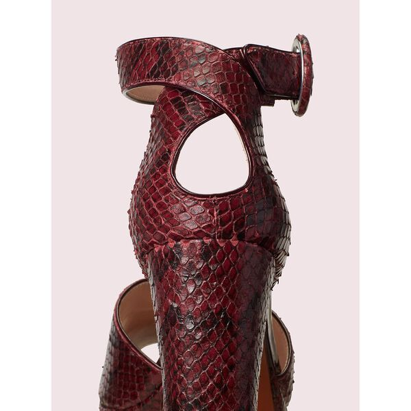 perry platform pumps, cherrywood, hi-res