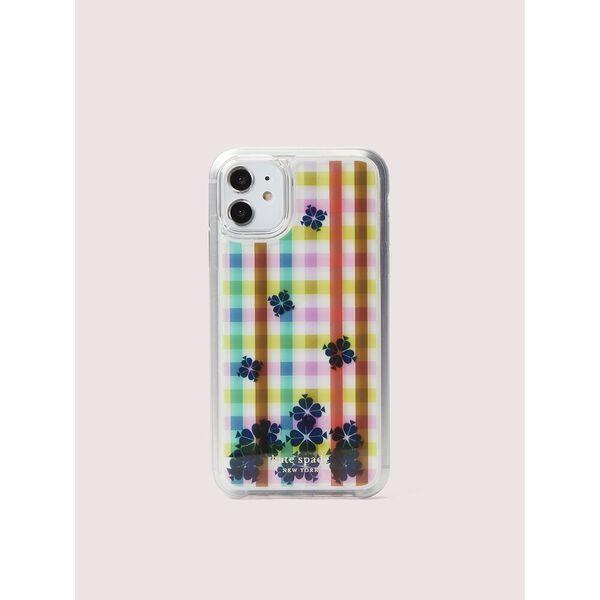 bella plaid liquid iphone 11 case